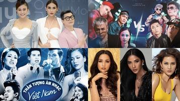 The Face - Next Top Model, Vietnam Idol - The Voice... những màn đối đầu lịch sử của TV Show Việt 10 năm qua