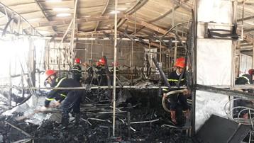 Sơn La: Kịp thời dập tắt đám cháy tại nhà hàng cá hồi ở Mộc Châu