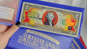 Đón Tết Tân Sửu bằng lì xì 2 USD hình con trâu
