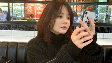 Chae Rim lần đầu lộ diện sau khi ly hôn