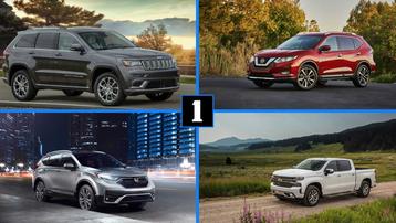 Top 10 mẫu xe bán chạy nhất nước Mỹ năm 2020