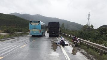 Đà Nẵng: Tai nạn giao thông trên đường tránh nam Hải Vân, 1 người chết