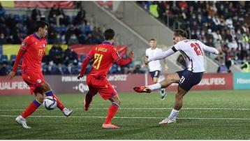 Kết quả Andorra 0-5 Anh: Tam sư phô diễn sức mạnh