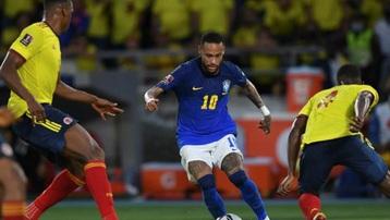 Kết quả Colombia 0-0 Brazil: Selecao đứt mạch toàn thắng