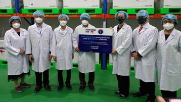 Australia tăng vaccine hỗ trợ Việt Nam lên 5,2 triệu liều