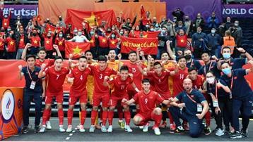 VCK Futsal World Cup 2021: Việt Nam đoạt danh hiệu Bàn thắng đẹp nhất