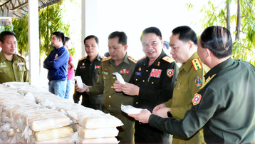Lào: Công an tỉnh Savannakhet phát hiện lượng ma túy lớn