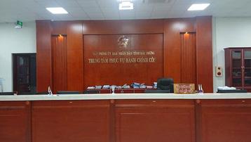Hải Dương tạm dừng hoạt động trung tâm hành chính công