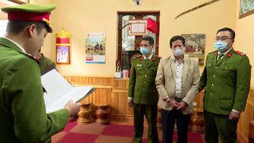 Khởi tố, bắt tạm giam nguyên Phó Giám đốc Sở Y tế tỉnh Sơn La