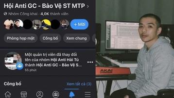 Group anti Hải Tú bất ngờ đổi tên sang anti GC và bảo vệ chủ tịch Sơn Tùng