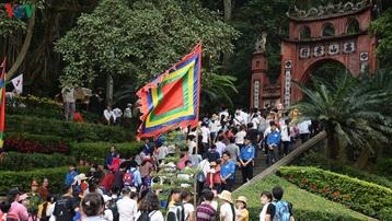 Giỗ Tổ Hùng Vương năm 2021 chỉ tổ chức phần lễ