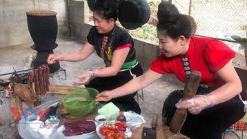 Đậm đà bản sắc các món ăn từ thịt trâu của đồng bào Thái Tây Bắc