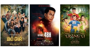 3 phim Việt hoãn chiếu trước chỉ đạo mới chống Covid-19: Bố Già, Lật Mặt và Trạng Tí lỡ hẹn khán giả!