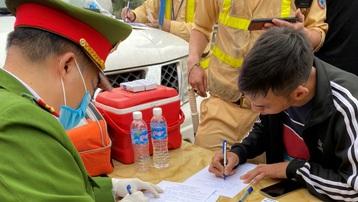 Xử phạt nặng lái xe dương tính với ma túy trên tuyến cao tốc Hà Nội - Thái Nguyên