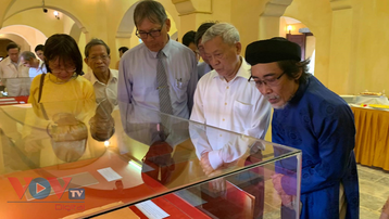 Khai trương không gian Tàng Thơ Lâu và giới thiệu nguồn thư tịch của triều Nguyễn
