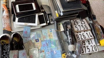 Công an Bình Dương triệt phá băng trộm cắp chuyên nghiệp
