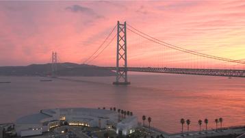 12 Nét Đẹp Vùng Kansai Nhật Bản: Cầu treo Akashi Kaikyo