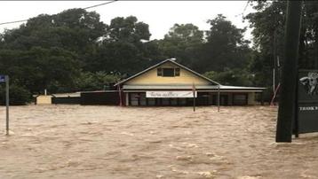 Mưa lớn gây ngập lụt nhiều nơi ở khu vực phía Đông Australia