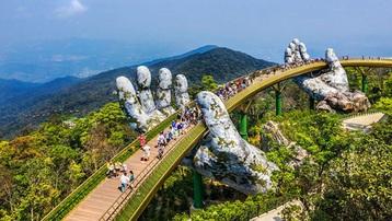 Báo Anh xếp cầu Vàng Đà Nẵng vào danh sách kỳ quan mới của thế giới