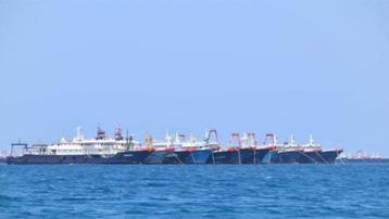 Philippines phát hiện hơn 200 tàu Trung Quốc tụ tập bất thường trên Biển Đông