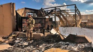 Căn cứ không quân Mỹ ở Iraq bị dội 'mưa' rocket