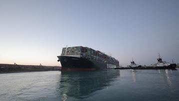 Kênh đào Suez chính thức hoạt động trở lại