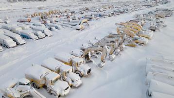 Những thị trấn ma ở Nga chìm trong băng giá
