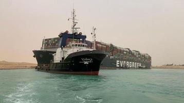 Ai Cập đòi bồi thường trước khi thả tàu Ever Given từng chắn ngang kênh đào Suez