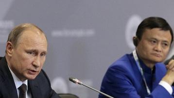 Jack Ma xuất hiện cùng Putin sau án phạt Alibaba