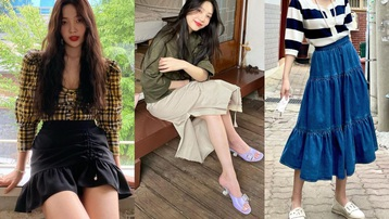 Cách diện chân váy không chỉ sang chảnh mà còn hack được vài tuổi