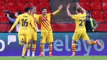 Kết quả Bilbao 0-4 Barca: Barcelona vô địch Cúp Nhà Vua lần thứ 31