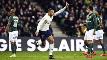 Kết quả PSG 3-2 Saint-Etienne: Thắng nghẹt thở Saint-Etienne, PSG chỉ còn kém Lille 1 điểm