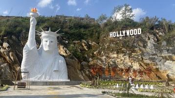 Chính quyền thị xã Sa Pa kiên quyết không để Nữ thần Tự do phiên bản 'lỗi' trên địa bàn