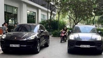 Hai ô tô Porsche trùng biển số: Công an cung cấp hình ảnh tài xế lái xe biển giả