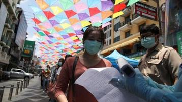 Thái Lan phạt nặng người không đeo khẩu trang