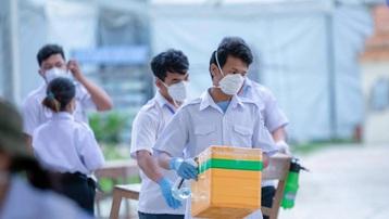 Campuchia tiếp tục 'lập kỷ lục' với 880 ca mắc COVID-19 trong ngày