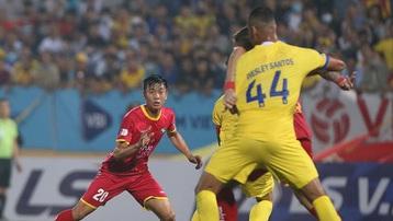Kết quả Nam Định 1-0 SLNA: Chiến thắng ở phút cuối