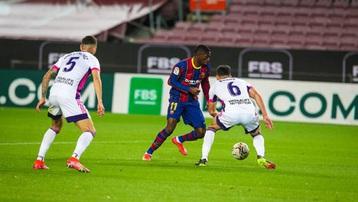 Kết quả Barcelona 1-0 Real Valladolid: Ghi bàn phút 90, Barca chỉ còn kém Atletico 1 điểm