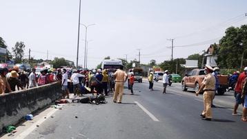 Bà Rịa - Vũng Tàu: Đi ngược chiều trên Quốc lộ 51, hai người bị xe khách tông tử vong