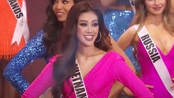 Chung kết Hoa hậu Hoàn vũ: Khánh Vân vào top 21