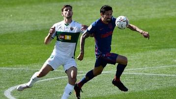 Kết quả Elche 0-1 Atletico: Chiến thắng thót tim