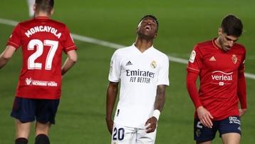 Kết quả Real Madrid 2-0 Osasuna: Chiến thắng nhọc nhằn