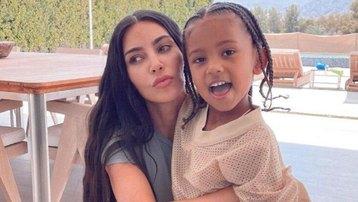 Con trai Kim Kardashian từng mắc Covid-19