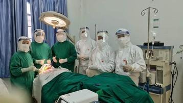 Phẫu thuật thành công ca chấn thương hàm mặt phức tạp tại khu cách ly COVID-19