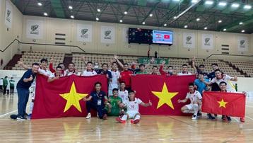 Kết quả Việt Nam 1-1 Lebanon: ĐT Việt Nam hiên ngang giành vé dự VCK futsal World Cup 2021