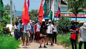 Biểu tình lớn ở Myanmar, 8 người thiệt mạng