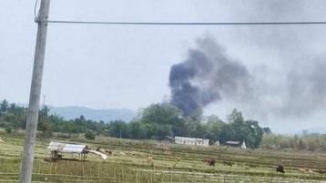 Trực thăng của quân đội Myanmar bị nhóm vũ trang thiểu số bắn hạ