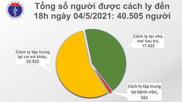 Chiều 4/5, thêm 11 ca mắc COVID-19, trong đó có 1 ca trong nước tại Đà Nẵng