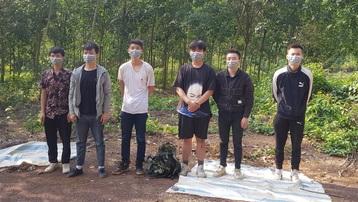 Phát hiện 6 người Trung Quốc nhập cảnh trái phép vào Bình Phước