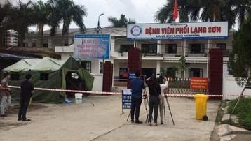 Phong tỏa bệnh viện Phổi Lạng Sơn do có ca nghi nhiễm COVID-19